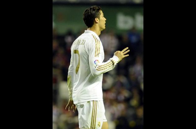 Cristiano Ronaldo gestos