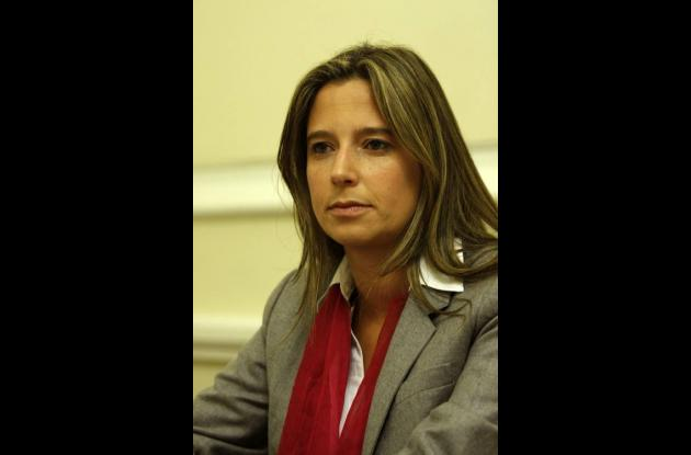 Cristina Plazas, Alta Consejera Presidencial para la Equidad de la Mujer. AL