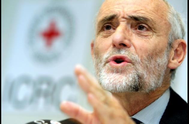 Jakob Kellenberge, presidente del Comité Internacional de la Cruz Roja