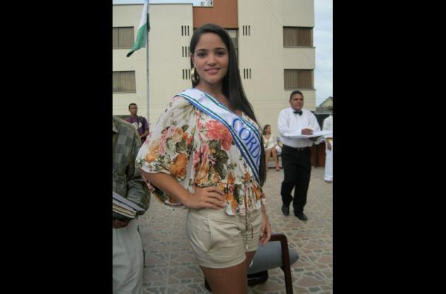 María Mónica Díaz, representa a Córdoba en el Reinado Nacional de la Ganadería