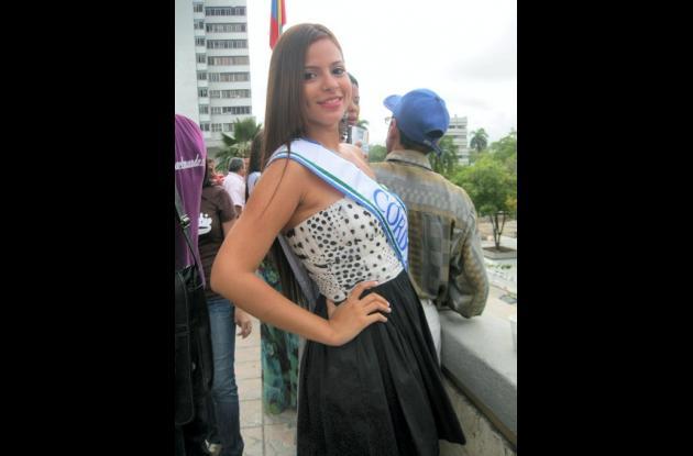 Ana Carolina Arrieta Villadiego, candidata al Reinado Nacional del Bambuco.