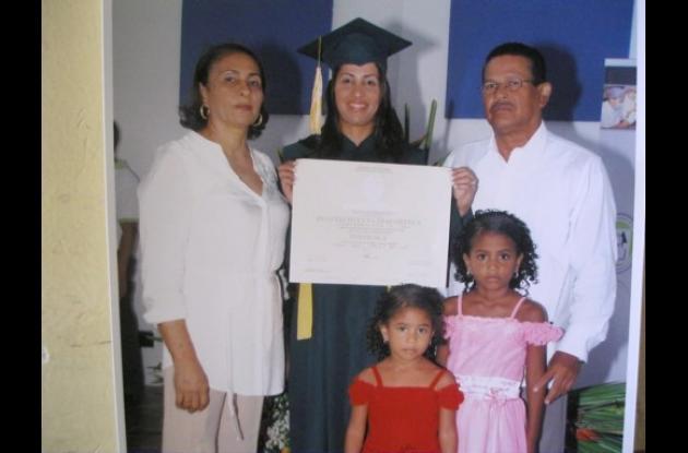 Grado de Beatriz Helena Díaz