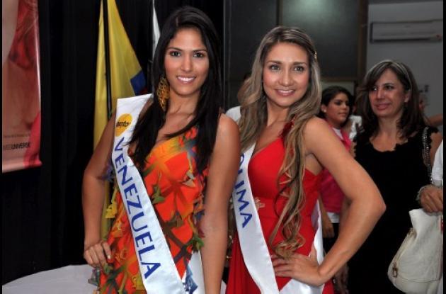 Venezuela y Tolima fueron escogidas como los rostros más lindos.