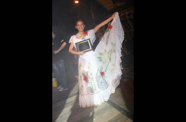 Paola Agnes de República Dominicana, Mejor Bailadora internacional