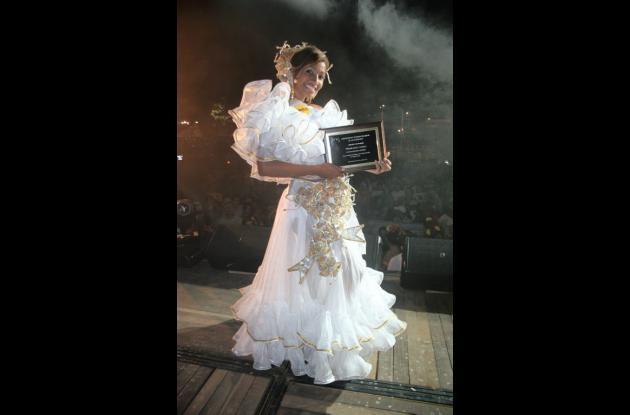 Yorly Tigreros del Meta, Mejor Bailadora en el Concurso Nacional.