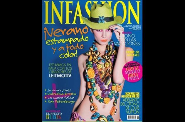 Modelos cordobesas en portadas de revistas.