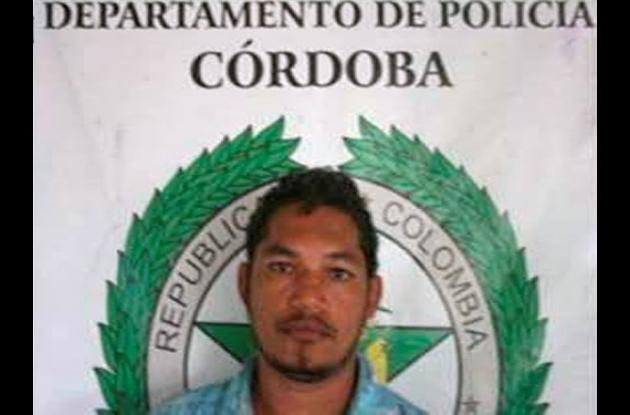 Fernelis Emiro Ariza Hernández, capturado