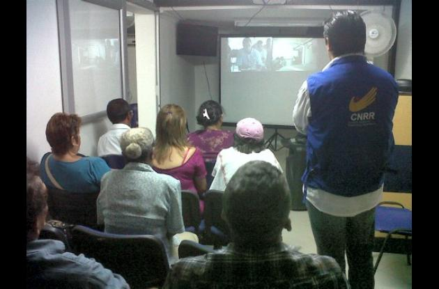 Audiencia sobre la masacre de Mapiripán
