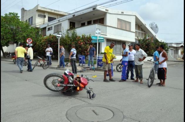 aumentó índice de accidentalidad en Montería
