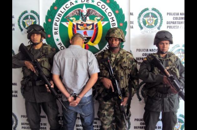 Jheyson Jhon Jaraba Pedroza, alias 'Yeyé', capturado.