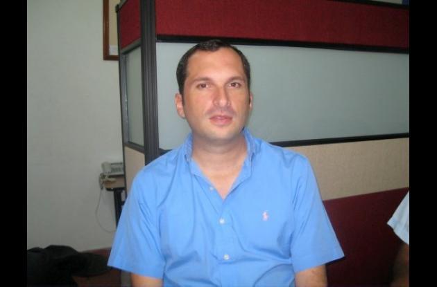 José Ignacio Burgos, candidato amenazado.