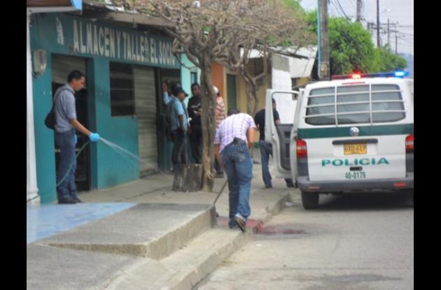 En este sitio de Tierralta fue asesinado José Vidal Suárez.