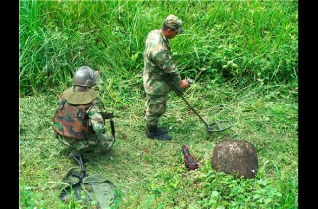 Fueron desactivados 13 artefactos explosivos.
