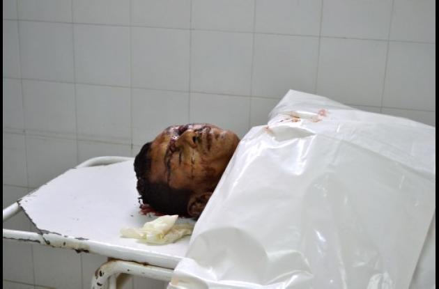 Rafael López, asesinado en Sahagún.