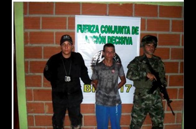 Carlos Vera Álvarez, capturado.