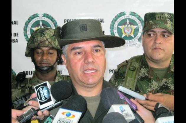 Coronel Héctor Páez, comandante de Policía en Córdoba.