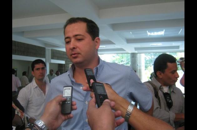 Marcos Daniel Pineda entregó declaraciones a los periodistas