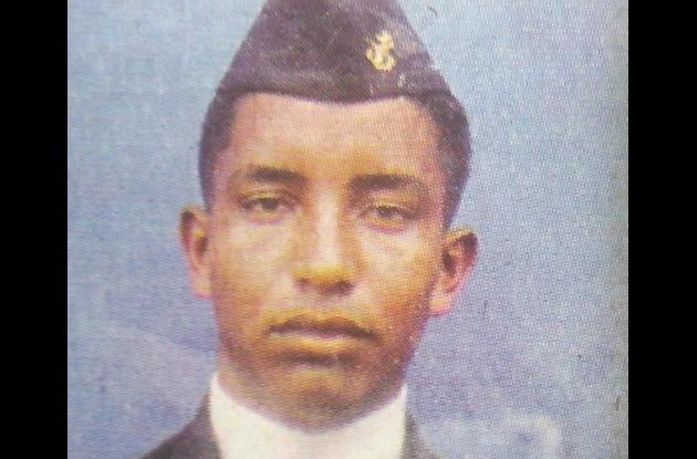Alvaro Javier Ariza, infante de marina.