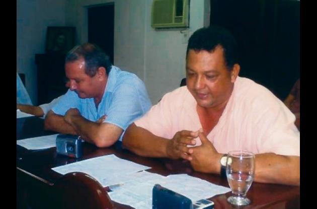 El concejal Alejandro Otero, víctima de un atentado.