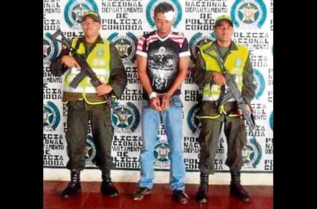 Andrés Felipe Mejía, señalado de asesinar a Daniel Santos Rodríguez.