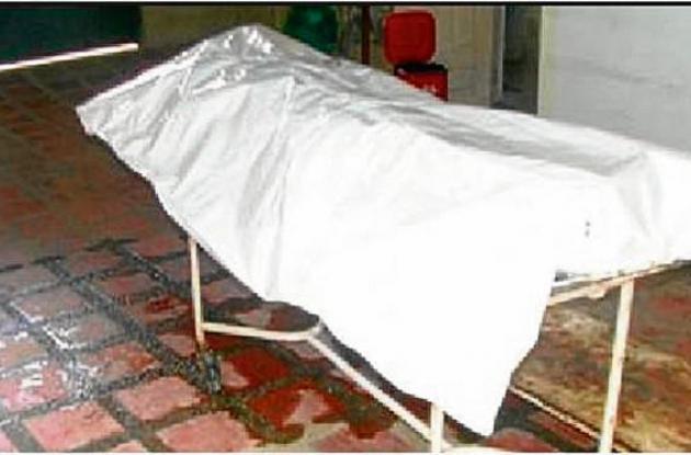 El cuerpo sin vida de Fabiola Botero de Botero