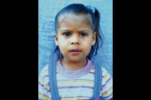Lesy Torres Calao, infante que murió en el sur de la capital del departamento