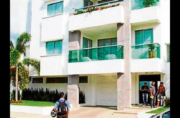 El robo se registró en un edificio del barrio El Recreo de Montería.