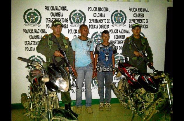 Máximo Antonio Salina Bolaños e Iván Herrera Sepúlveda, capturados