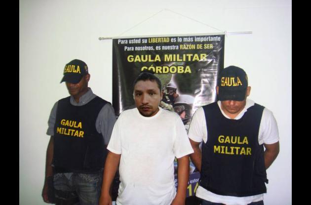 Jairo Lozano, detenido.