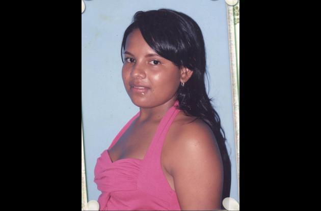 Ana Victoria López, asesinada.