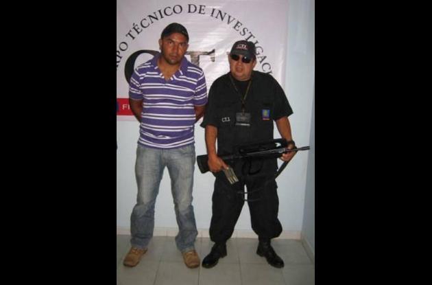 Abel José Cuadrado Petro, detenido por abuso sexual en el municipio de Puerto Es