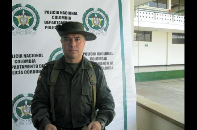 comandante de la Policía de Córdoba, coronel Héctor Páez