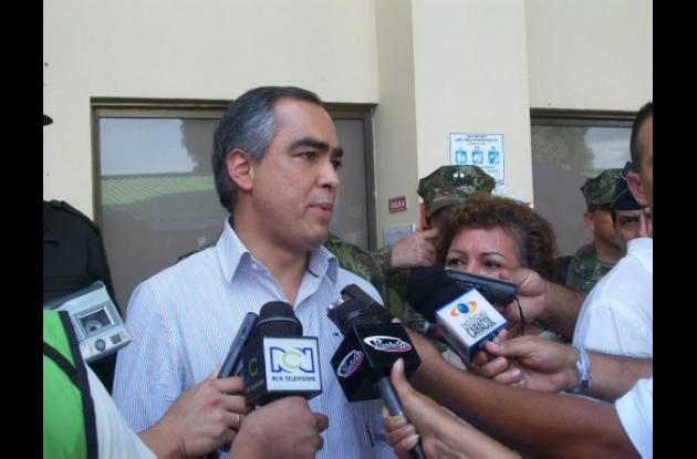 Rodrigo Rivera, ministro de Defensa