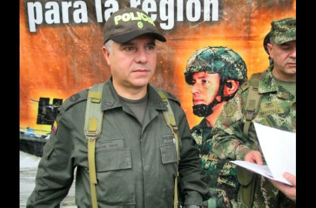 Coronel Hector Páez Valderrama.