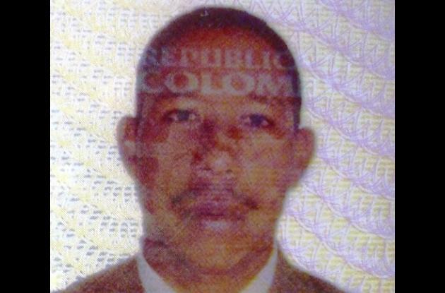 José Luis Pájaro Roble, asesinado.