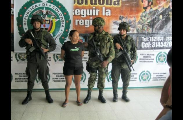 """Eugenia Mójica, alias """"La Guajira"""", capturada"""