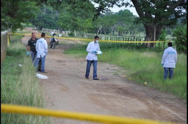David Antonio Navarro Paternina, asesinado a tiros en el municipio de Jaraquiel