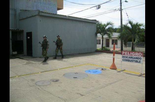 El Ejército Nacional realizó controles en Montería