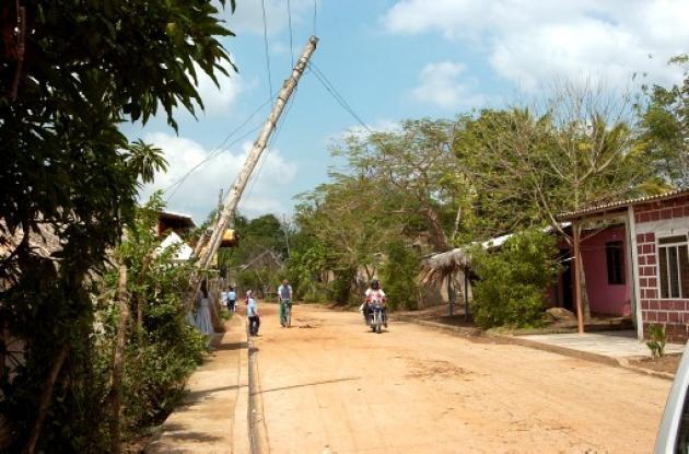 Berástegui, corregimiento del municipio de Ciénaga de Oro
