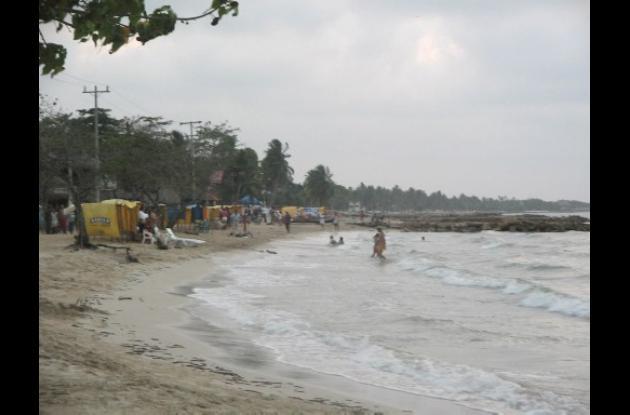 playas del municipio de San Bernardo del Viento
