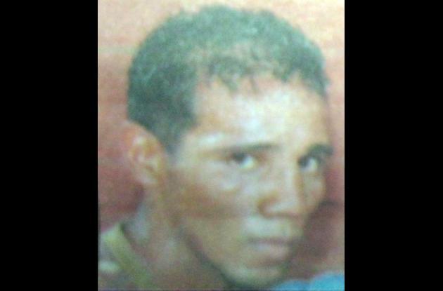 William Morelo, boxeador cordobés asesinado en el 2009.