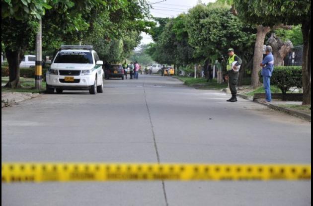 Dos hombres mataron a Simei Doval Ruiz en el barrio Costa de Oro de Montería.