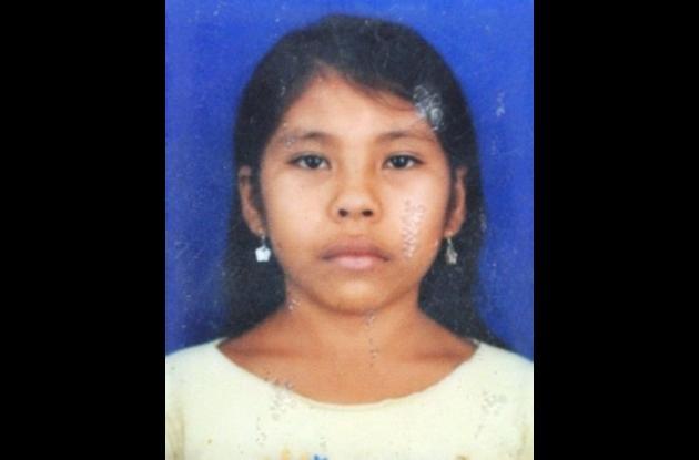 Vanessa Díaz Morelo, niña que murió en un accidente de tránsito