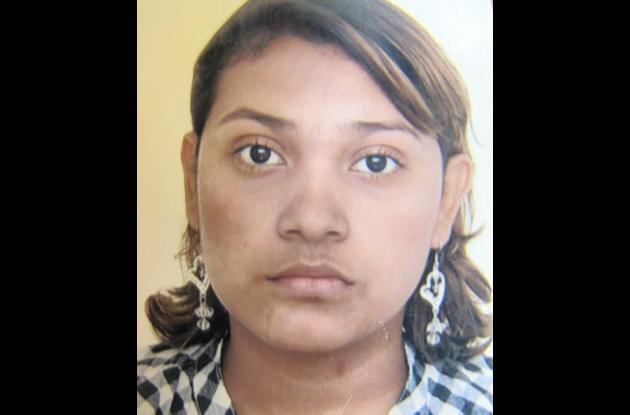 María Fernanda Hernández, desaparecida.