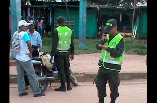La policía realizó operativos en diferentes municipios cordobeses