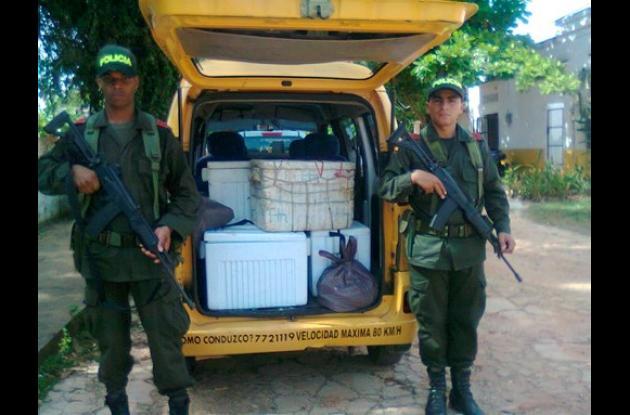 También la policía realizó con éxito allanamientos en diferentes municipios