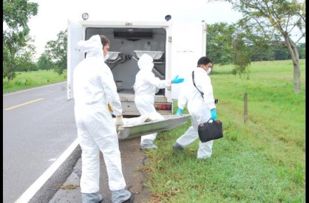 Víctor Megambre fue asesinado en la región El Diamante