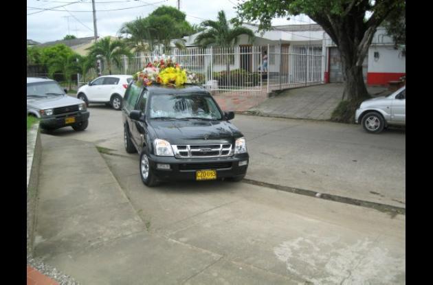 el cadáver fue conducido al cementerio Jardines de La Esperanza.