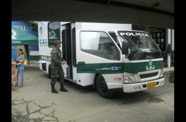 La Alcaldía donó CAI de Seguridad a la Policía en Montería.