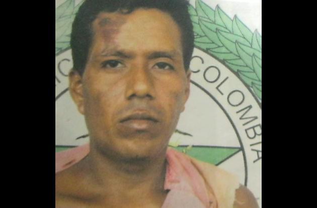 Wilson Rafael Atilano Almario, fue capturado en Puerto Libertador
